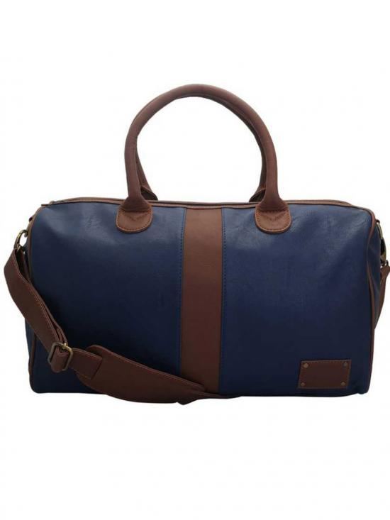 Synthetic Bluh Unisex Duffle - Blue
