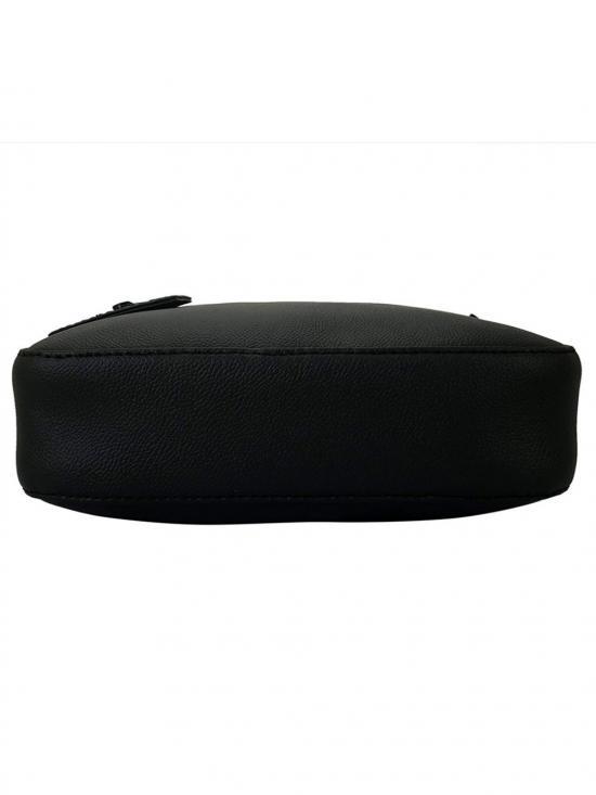 Lapis O Lupo Onyx Women Synthetic Sling Bag - Black