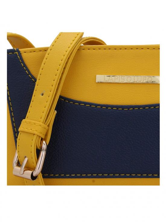 Lapis O Lupo Splendid Women Synthetic Sling Bag - Yellow