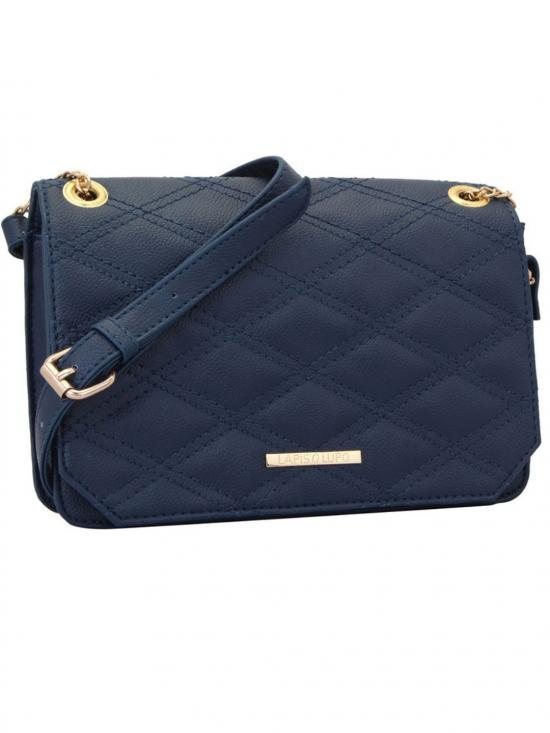Azure Women Sythetic Sling Bag - Blue