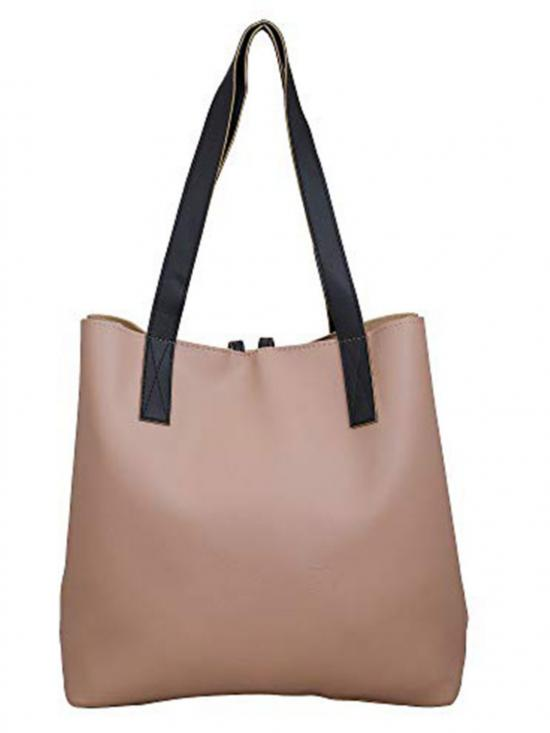 Lapis O Lupo  Synthetic Women Tote Bag - Beige