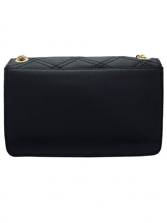 Lapis O Lupo Nwahr Women Synthetic Sling Bag - Black