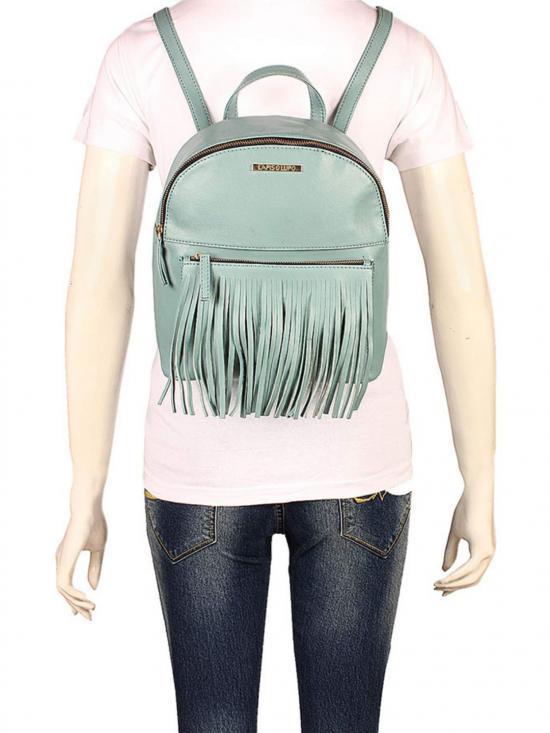 Synthetic HeavenWomen Backpack - Turquoise Blue