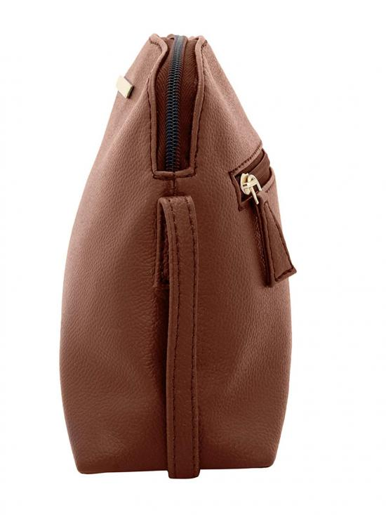 Ecru Women Synthetic Sling Bag - Tan