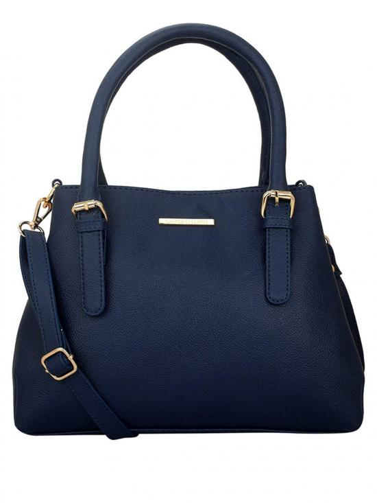 Azzurro Women Synthetic Handbag - Blue