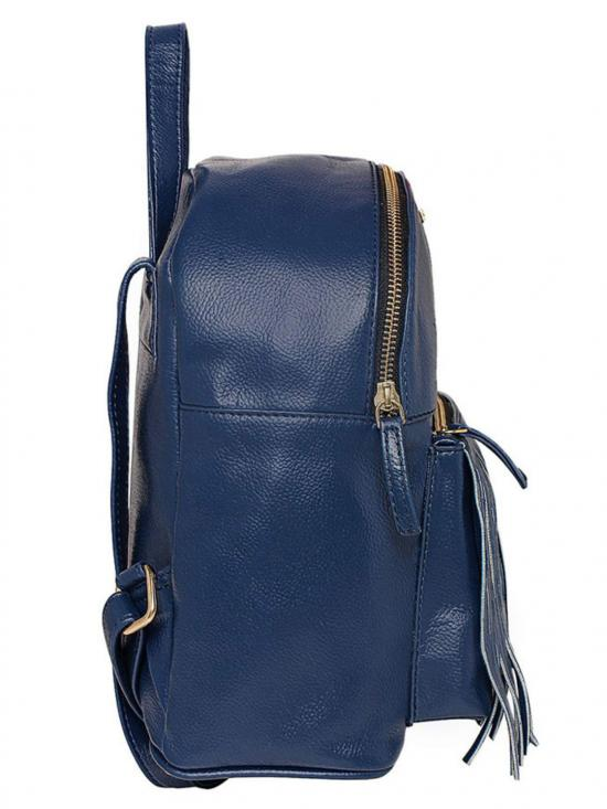 Synthetic Opel Arine Women Backpack - Blue