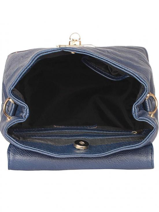 Synthetic Candy Women Backpack - Blue
