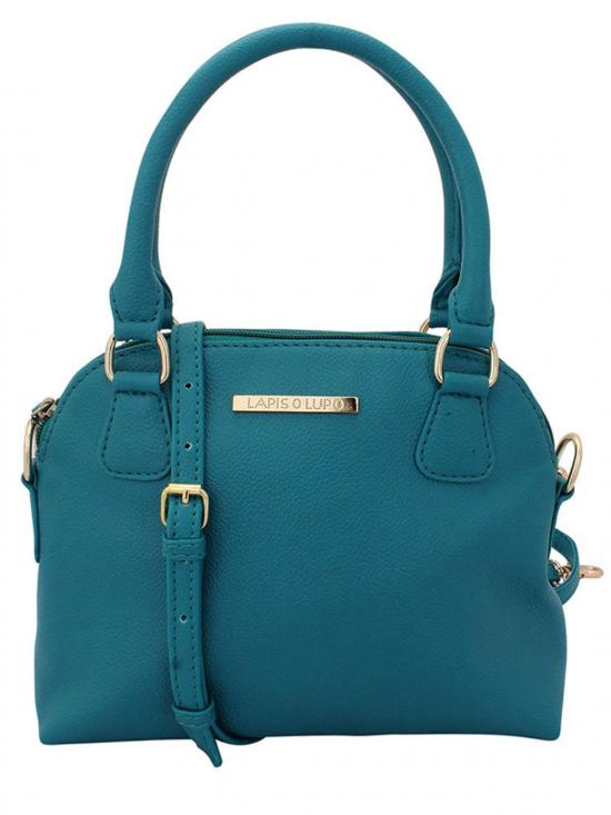 Pale Hued Women Neno Synthetic Handbag - Turquoise