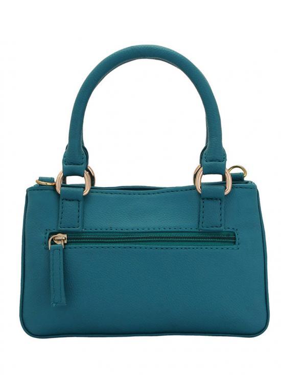 Azeruel Women Neno Synthetic Handbag - Turquoise