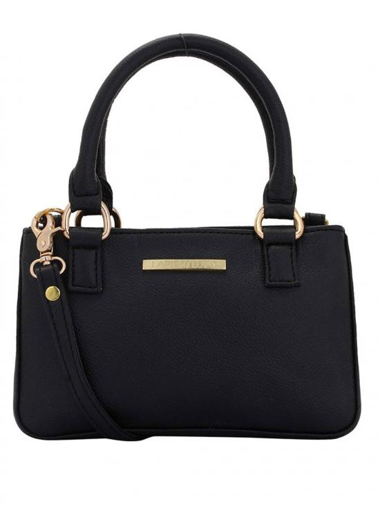 Brunet Women Neno Synthetic Handbag - Black