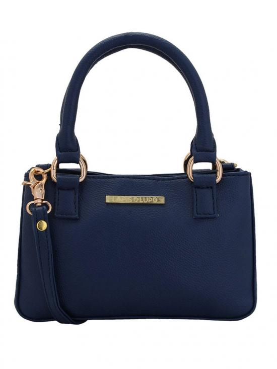 Zaffre Women Neno Synthetic Handbag - Blue
