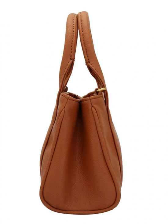 Lapis O Lupo Zap Women Neno Synthetic Handbag - Tan