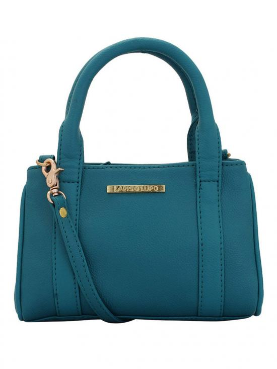 Calcareous Women Neno Synthetic Handbag - Turquoise