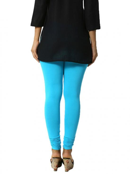 De Moza Churidar Leggings Peacock Blue