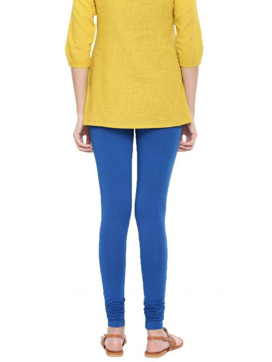 De Moza Churidar Leggings Cobalt