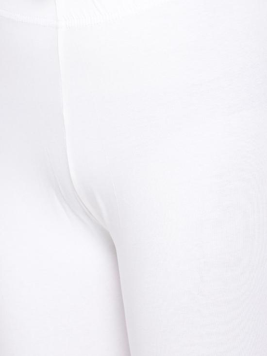 De Moza Churidar Leggings White