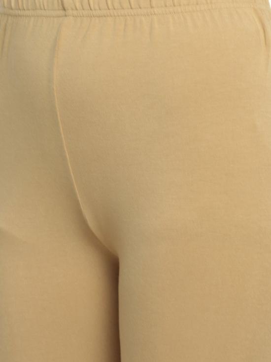 De Moza Churidar Leggings Skin Colour