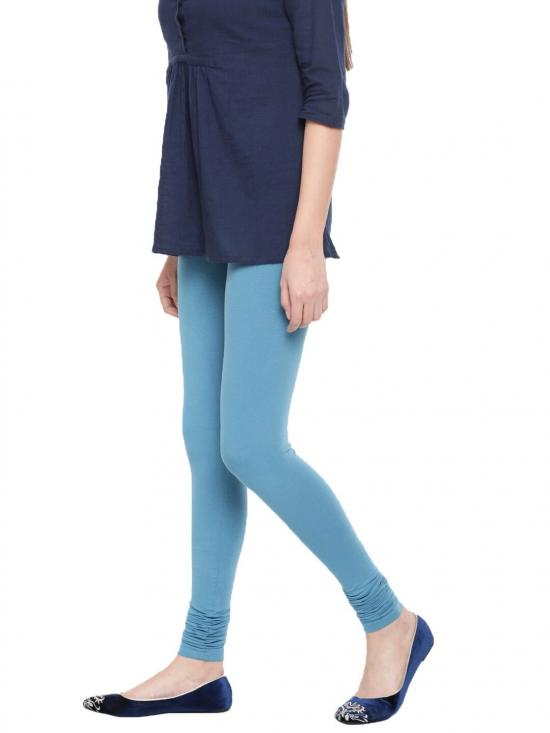 De Moza Churidar Leggings True Indigo