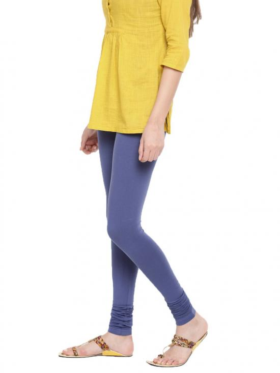 De Moza Churidar Leggings Indigo Blue