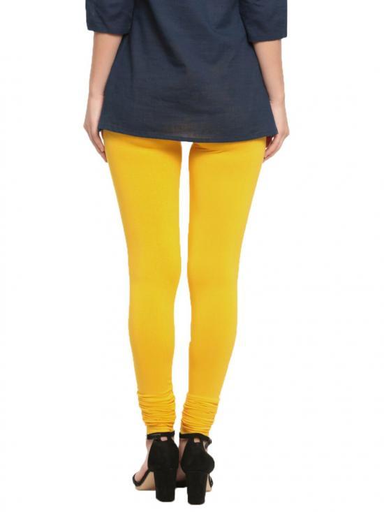 De Moza Churidar Leggings Golden Yellow