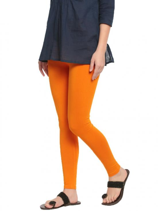 De Moza Ankle Length Leggings Dark Yellow