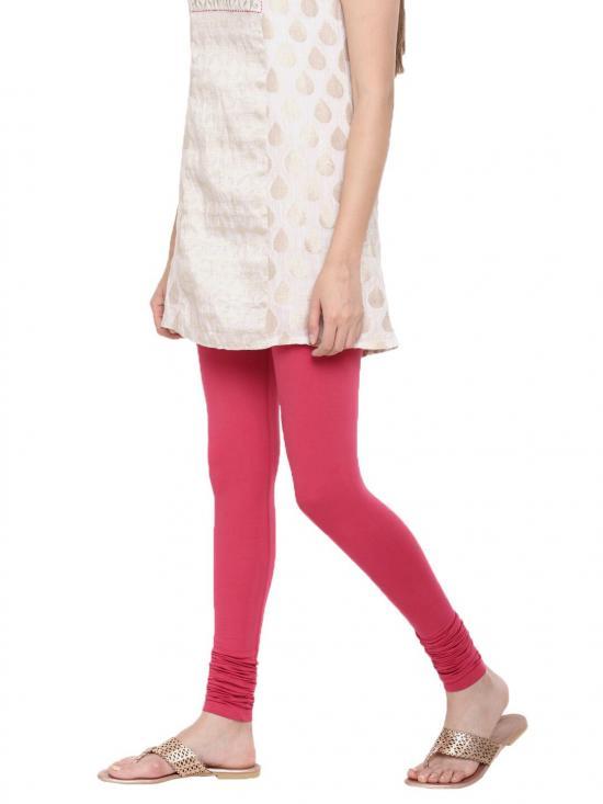 De Moza Churidar Leggings Dark Pink