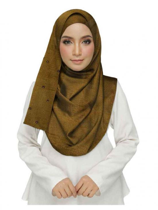 Stole for Women Designer Crush Star Studed Stole Brown