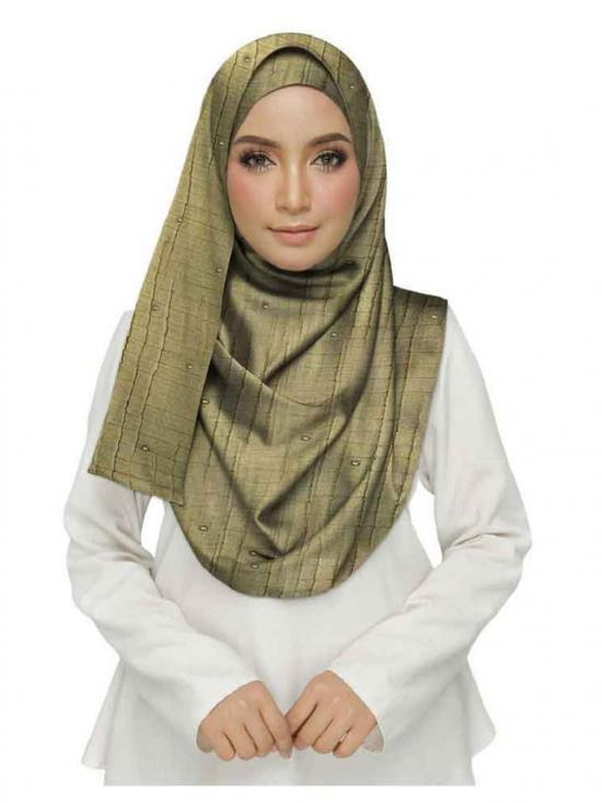 Designer Crush Diamond Studed Stole In Brown