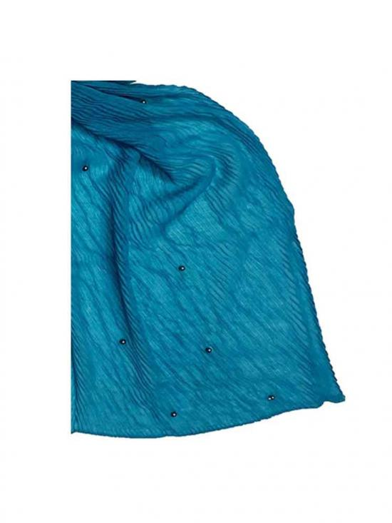 Premium Crush Diamond Stole in Green