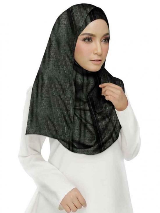 Stole for Women Best Seller Half Designer Stole Black