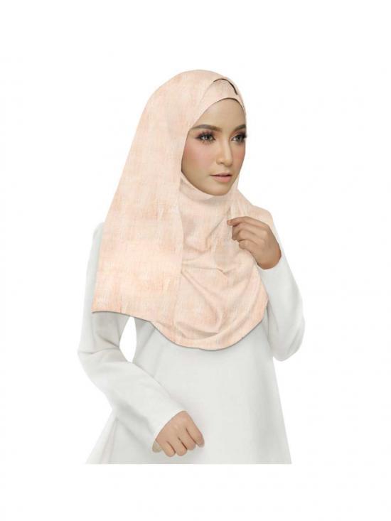 Premium Cotton Plain Hijab in Orange