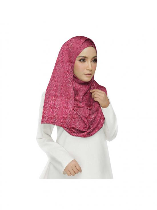 Premium Cotton Plain Hijab in Maroon
