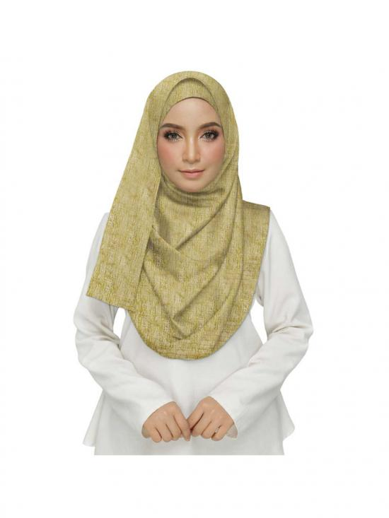 Stole For Women Premium Cotton Plain Hijab in Brown