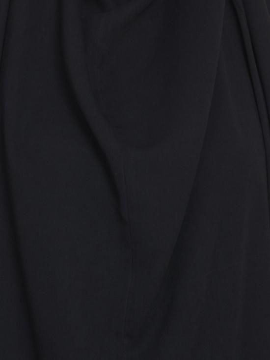 Nida Mate Kaftan with Attached Head Gear in Black