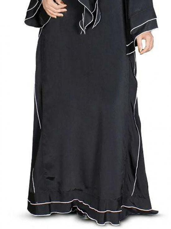 Nida Matte Wardah Abaya In Black