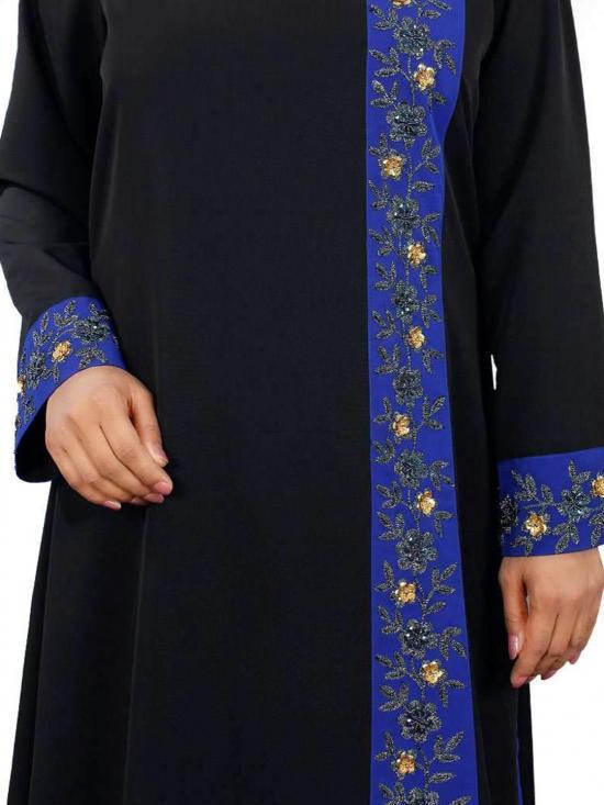 Nida Matte Shahina Abaya In Black