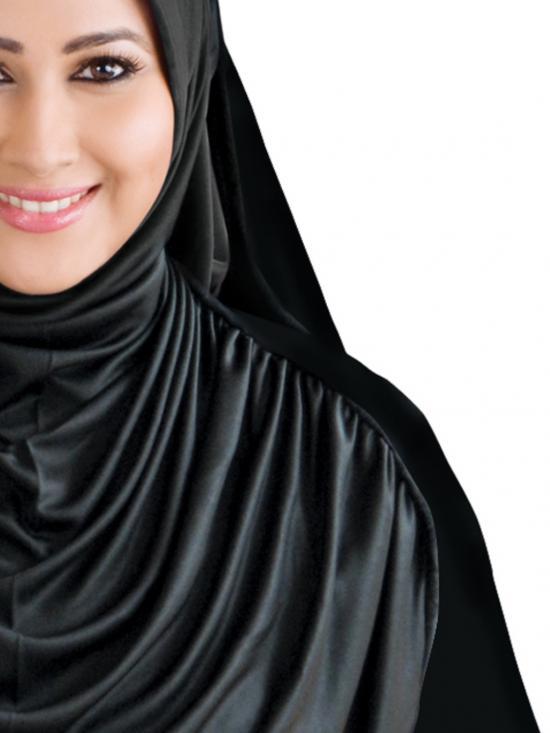 Faeezah Hijab In black