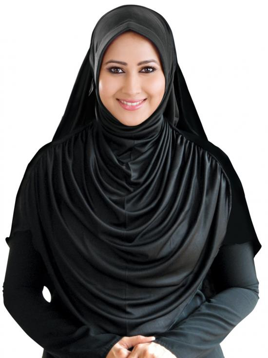 Faeezah Hijab In Black