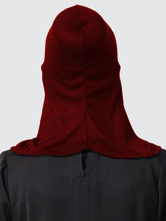 Jercy Viscose Under Hijab Ninja Cap and Mask Combo In Maroon