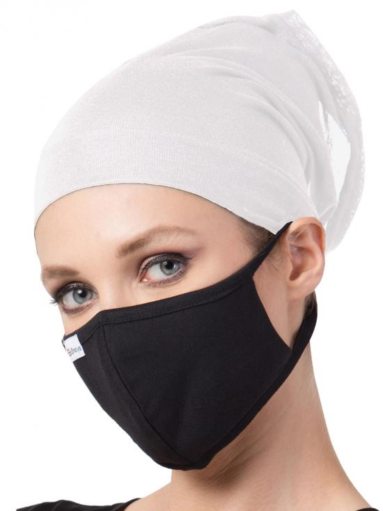 Jersey Viscose Under Hijab Bonnet Cap and Mask Combo In Multi Colour