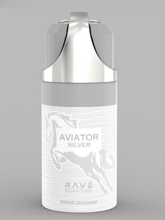 Aviator Silver 250 Ml Deodorant Spray For Men