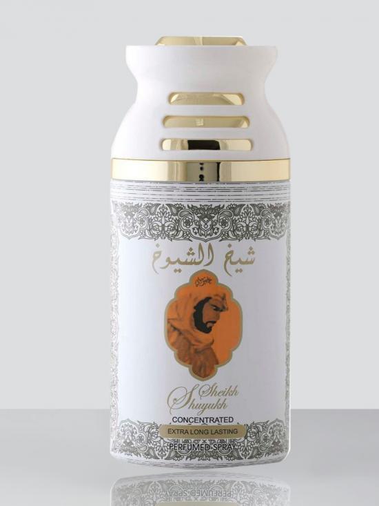 Shaikh Al Shuyukh Khususi White 250 Ml Deodorant Spray For Men And Women