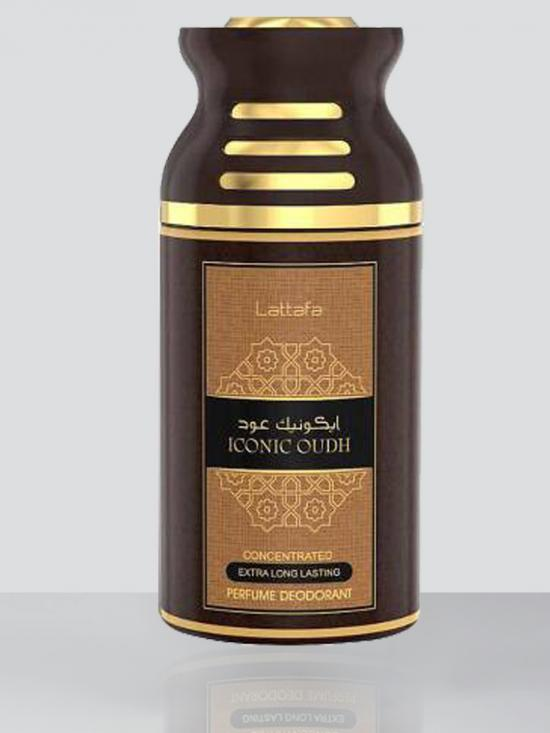 Iconic Oudh 250 Ml Deodorant Spray For Men And Women