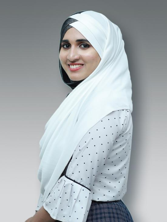 Turban Soft Knitted Lycra Double Shaded Instant Hijab In Black And White