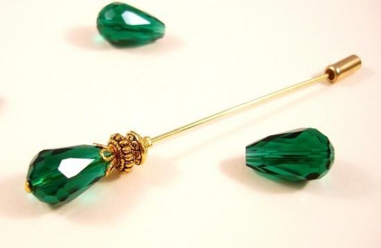 Green-medium-size-hijab-pin