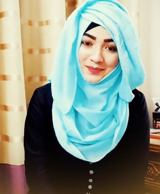 Layered-hijab