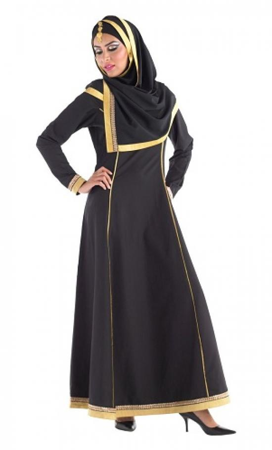 Golden-bordered-hijab