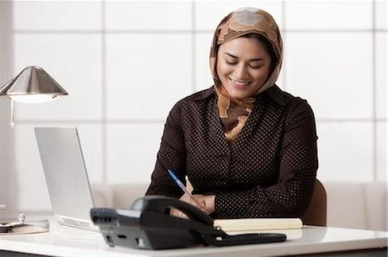 Trendy-hijab-office-style