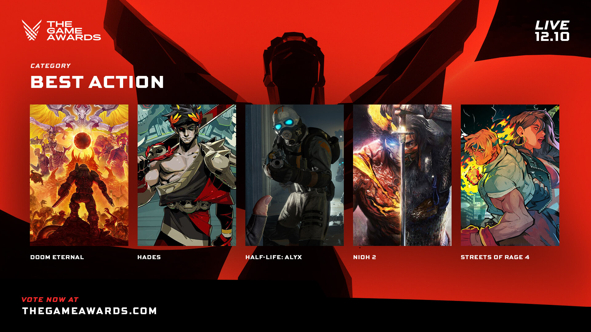 Nominees The Game Awards