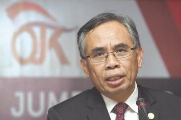 Ketua DK OJK Wimboh Santoso/OJK